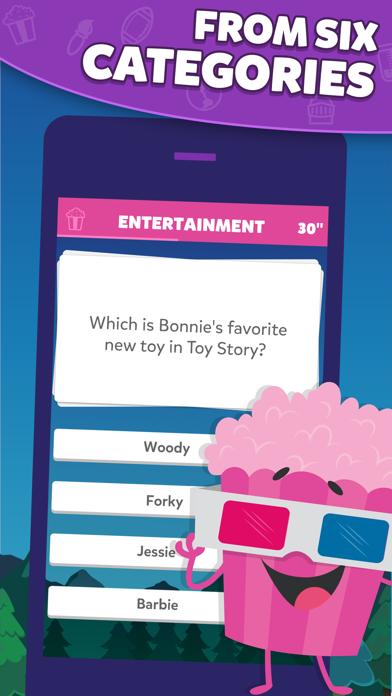 Screenshot from Trivia Crack