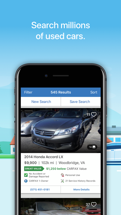 CARFAX – Find Used Cars for Sale screenshot
