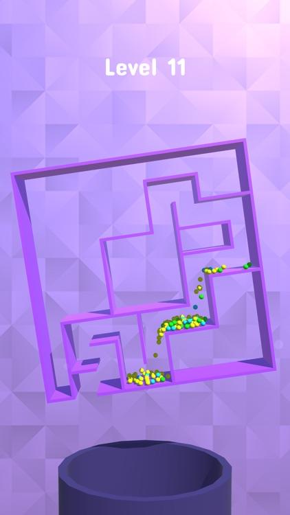 Balls Rotate 3D - Maze Puzzle
