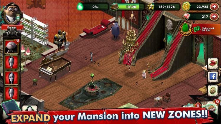 Addams Family: Mystery Mansion screenshot-3