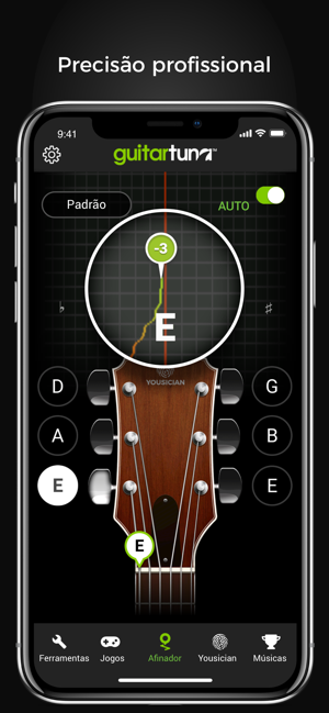 ‎GuitarTuna: Afinador Guitarra Screenshot