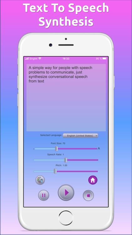 Deaf-Mute Communication Helper screenshot-4