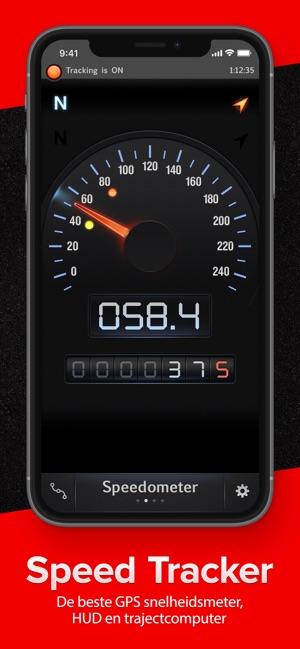 Hedendaags Speed Tracker lite in de App Store JX-38
