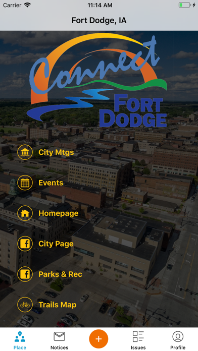 Connect Fort Dodge screenshot one
