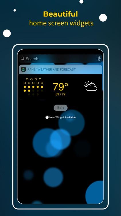 RANE° - Minimalist Weather screenshot-0