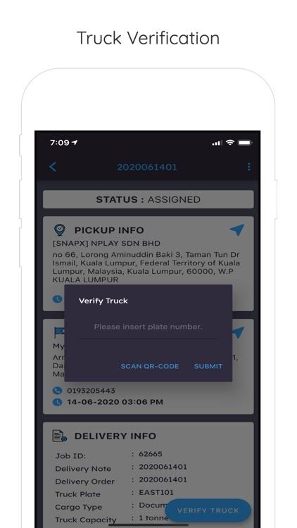 Snaptruck Driver screenshot-7