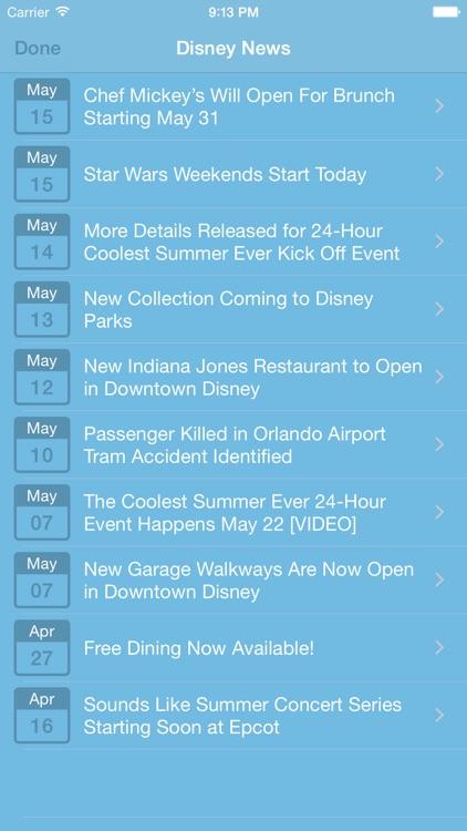 Countdown for Disney screenshot-3