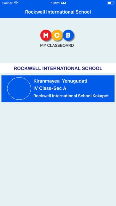 MyClassBoard Parent Portal screenshot 1