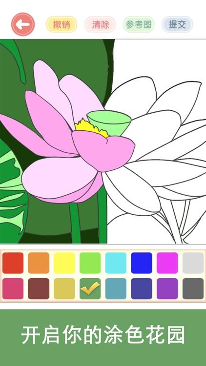 涂色花园—涂鸦减压休闲小游戏