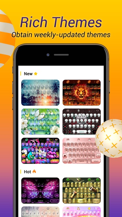 Avatar Keyboard-Themes, Emojis screenshot-6