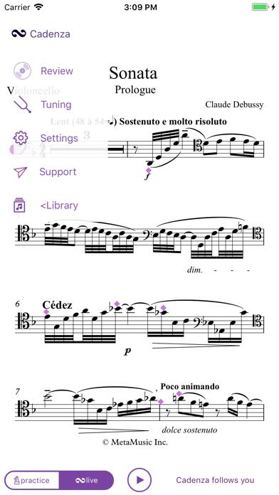 Cadenza Live Accompanist screenshot four