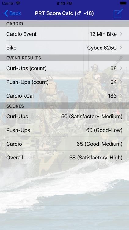 Navy PFA Calc screenshot-3