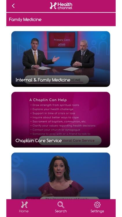 The Health Channel screenshot-3