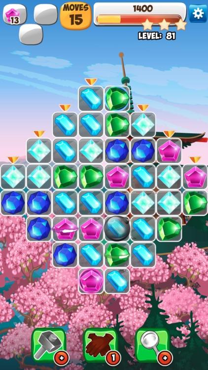 Jewels Detective Shiny Мatch 3 screenshot-5