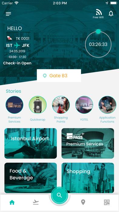 Screenshot for İstanbul Airport in Azerbaijan App Store