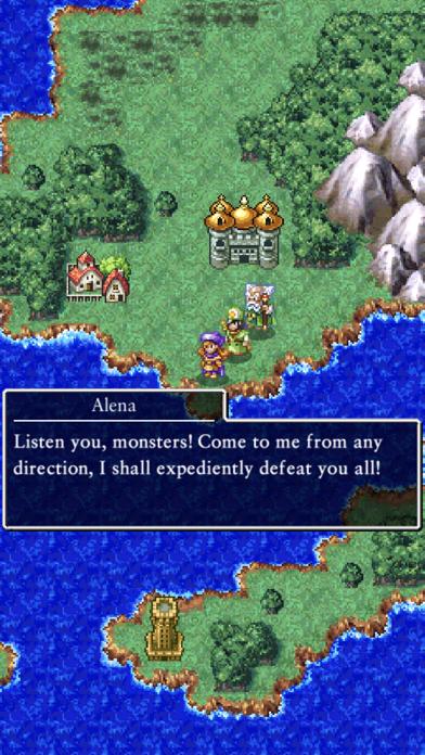 Скриншот №3 к DRAGON QUEST IV