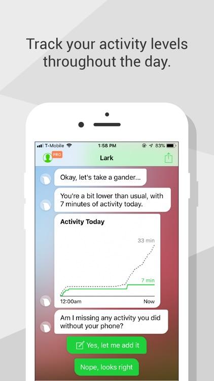 Lark - 24/7 Health Coach screenshot-3
