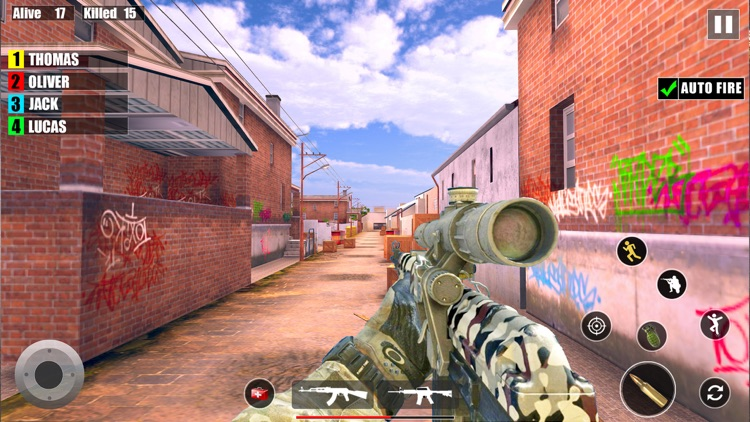 Counter Terrorist Gun Strike screenshot-4
