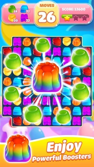 Jelly Jam Crush - Match 3 Game screenshot three