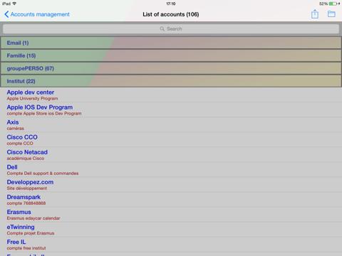 gestionComptes - náhled