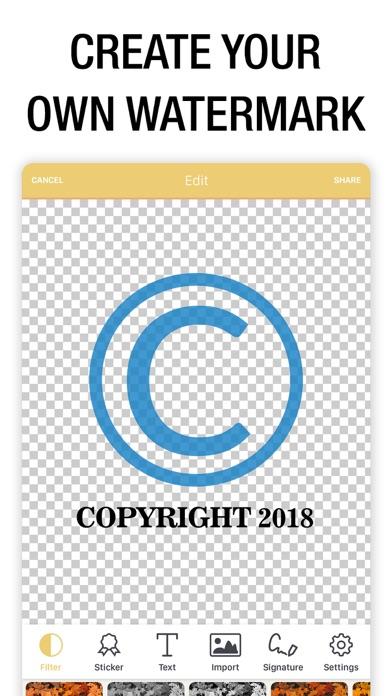Watermark Photo: Add Copyright Screenshot