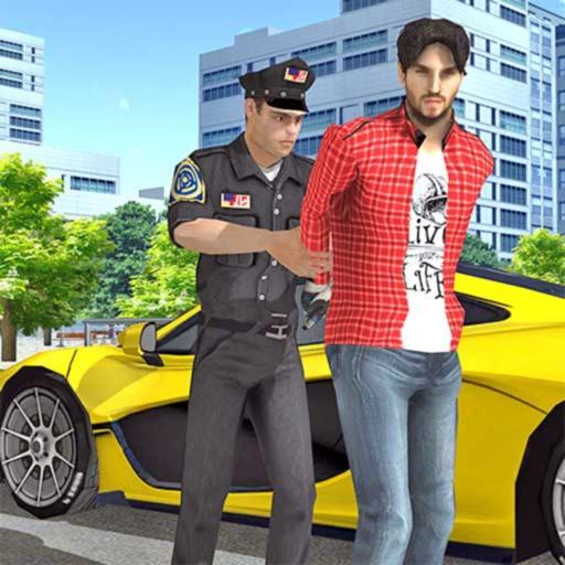 Полицейская Автомобиль погоня