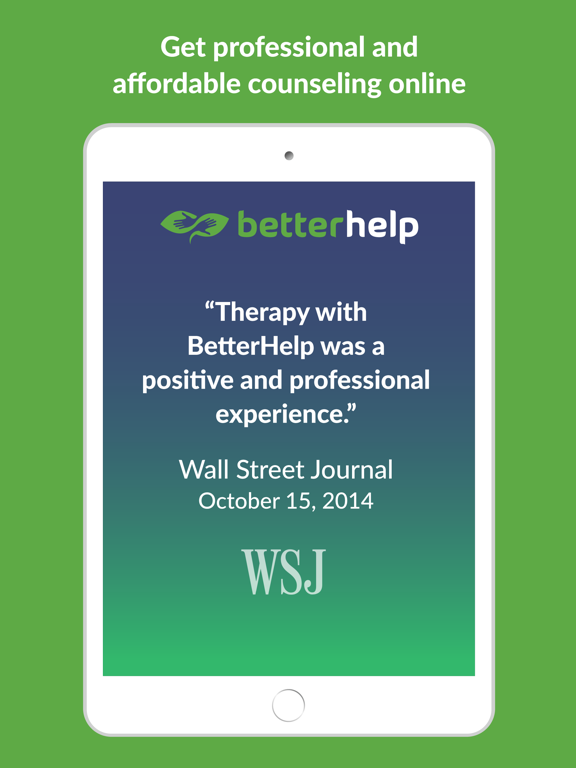 BetterHelp - Online Counseling and Therapy screenshot