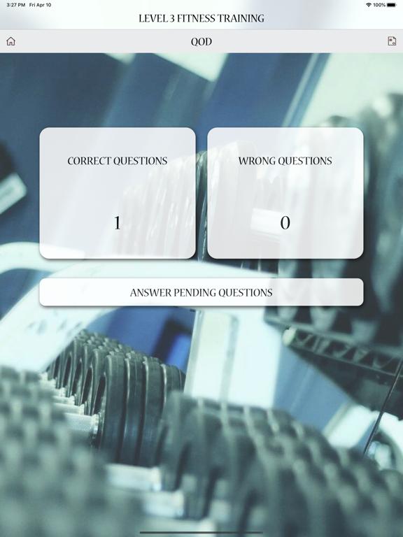 Level 3 Fitness Training Test screenshot 14