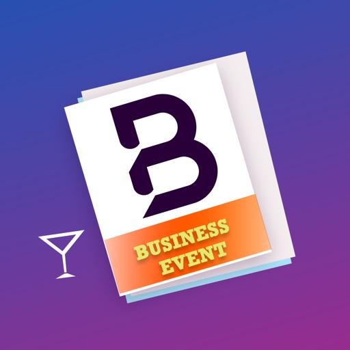 Business Event Card Maker