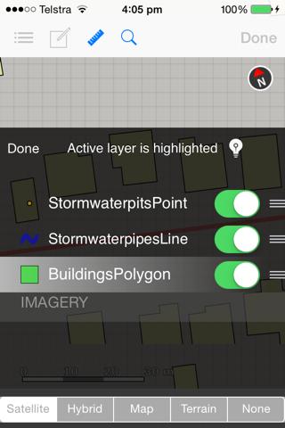 Screenshot of iGIS