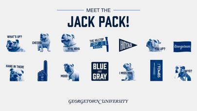 点击获取Georgetown Stickers