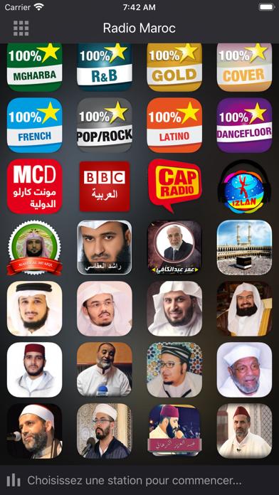 Radios Maroc - راديو المغربلقطة شاشة2