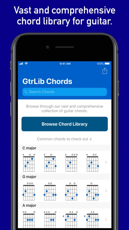 GtrLib Chords Pro screenshot-0