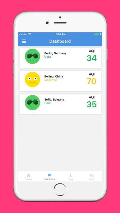 Airlief: Air Quality Data&Tips