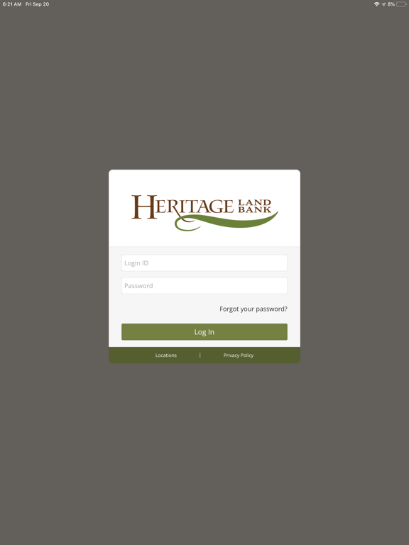 Heritage Land Bank Ag Banking-ipad-0