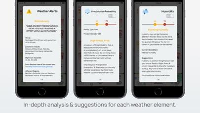 AURA - Smart Weather for Drone Screenshot