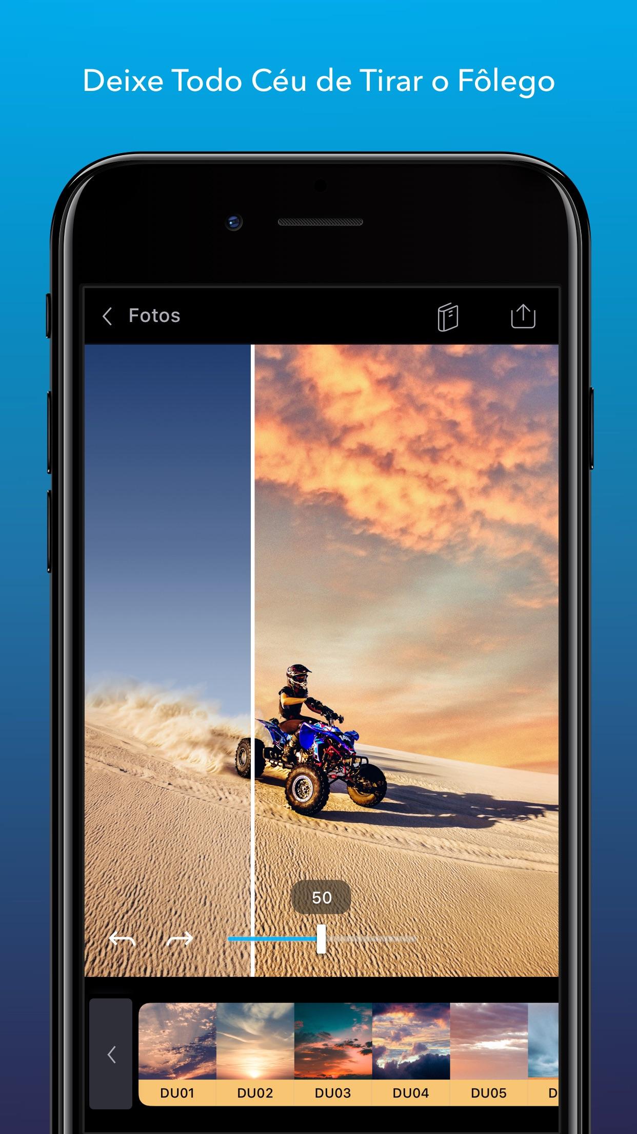 Screenshot do app Enlight Quickshot