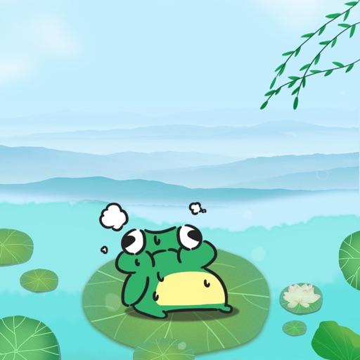 快乐小青蛙-贴纸