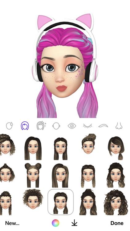 Facemoji: 3D Emoji Avatar App screenshot-4