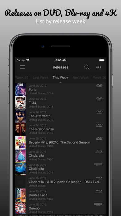 My Movies 3 - Movie & TV - App - Appinate