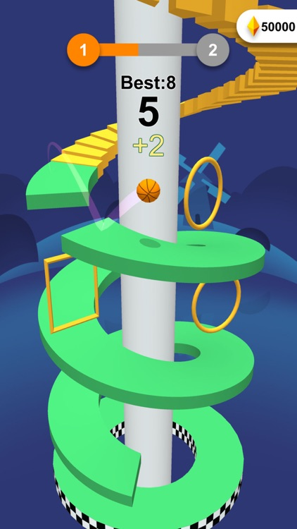Jump Ball-Bounce On Tower Tile screenshot-4