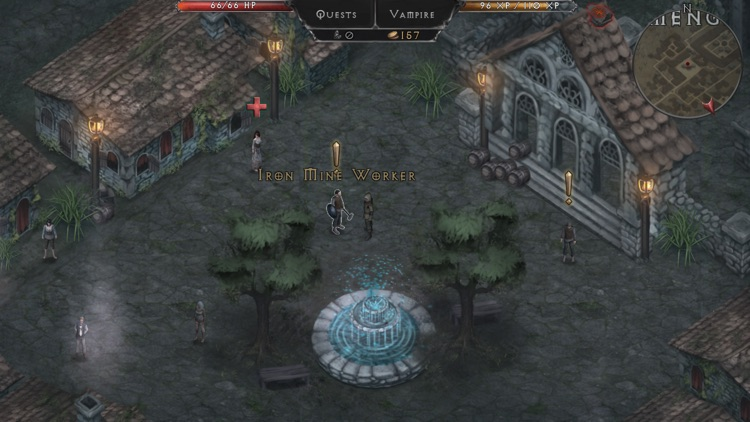 Vampire's Fall: Origins RPG screenshot-4