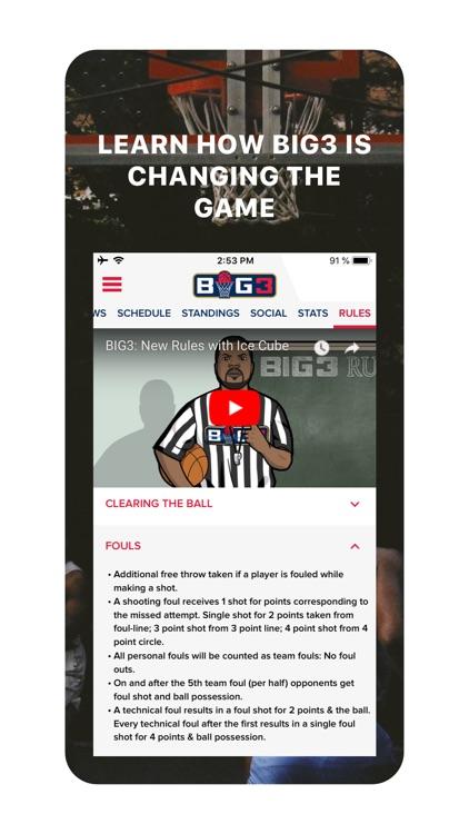 BIG3 screenshot-3