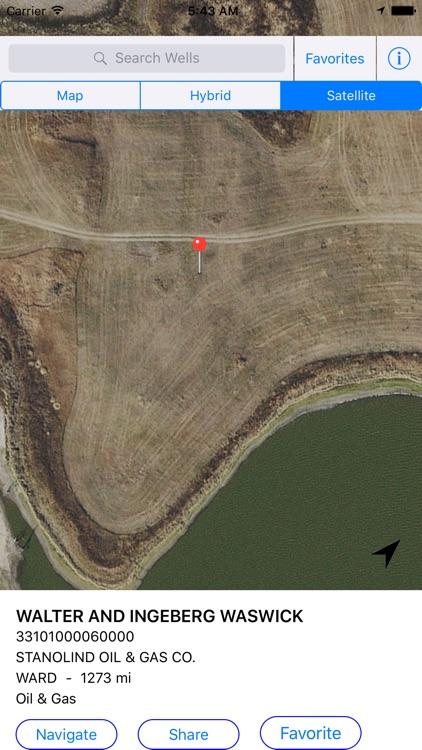 North Dakota Oil Well Finder