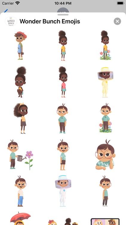 Wonder Bunch Emojis screenshot-4