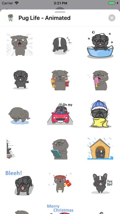 Pug Life - Animated screenshot 4