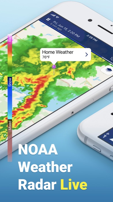 Screenshot for NOAA Weather Radar Live in United States App Store