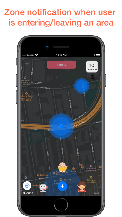 Family & Friends Locator Screenshot