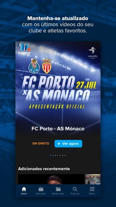 Screenshot #1 pour FC Porto TV