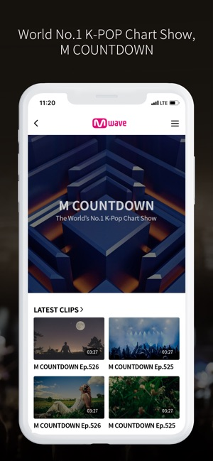 Mwave - MAMA, M COUNTDOWN on the App Store